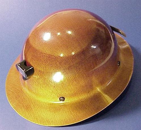 MSA Skullgard Wide Rim Hat w/Bracket